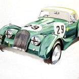 Morgan Plus 4 Supersport TOK 258 – Le Mans 1962