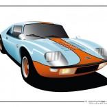 Jidé Scora en mode GT40