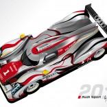 Audi R18 Le Mans 2011 en carbone et en couleur…