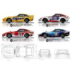 4 Datsun/Nissan Fairlady Z