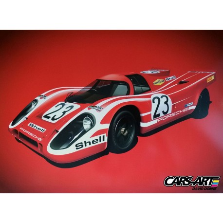 Porsche 917K n°23 Le Mans winner 1970