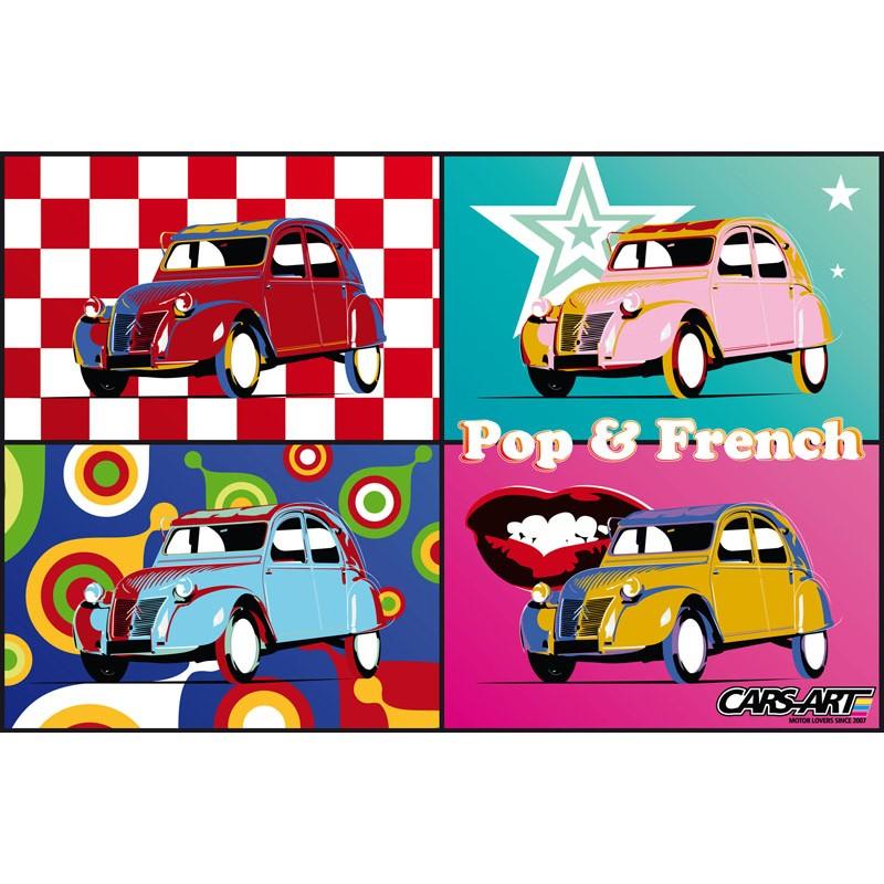 2cv pop art