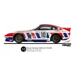 Datsun/Nissan 240ZG GC TS/HS30H - 300 mile Fuji 1972 winner (Haruhito Yanagida)