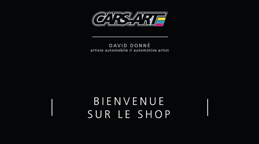 Bienvenue sur le shop Cars-Art