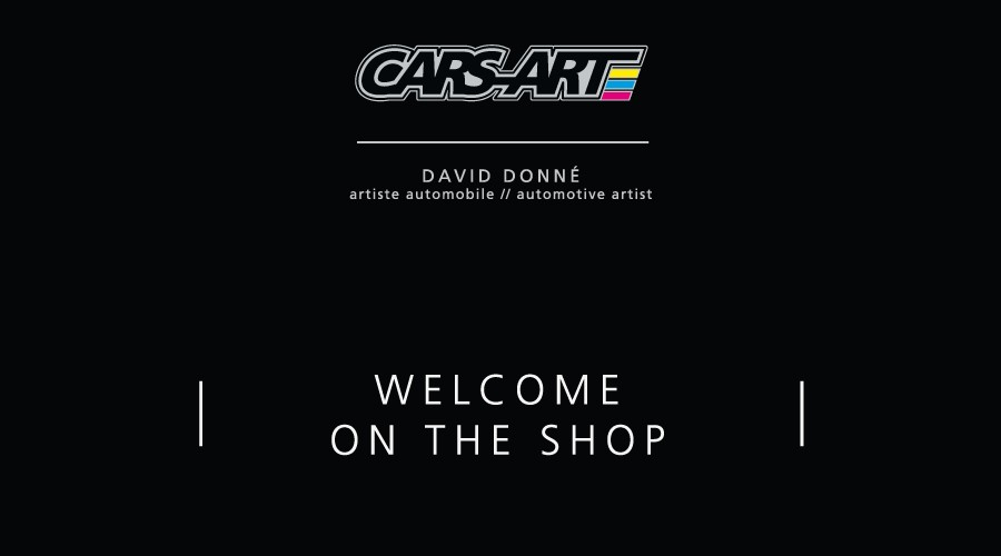 Welcome on the Cars-Art shop
